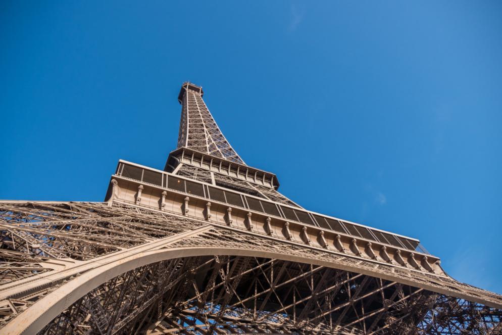 vue tour Eiffel pilier sud