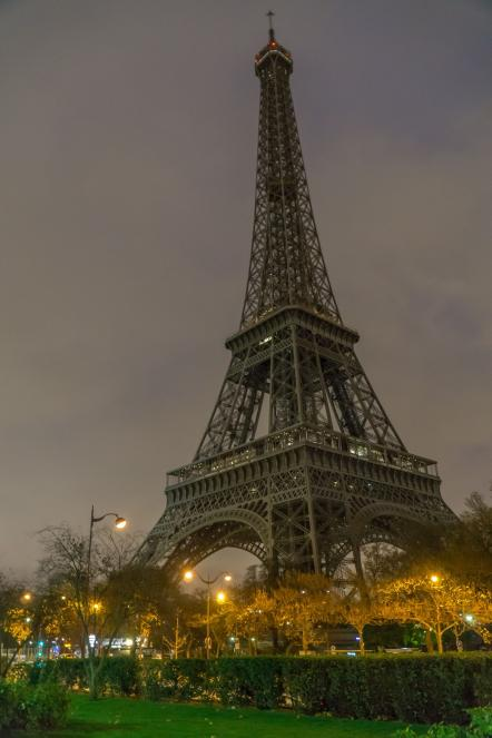 Extinction de la Tour Eiffel