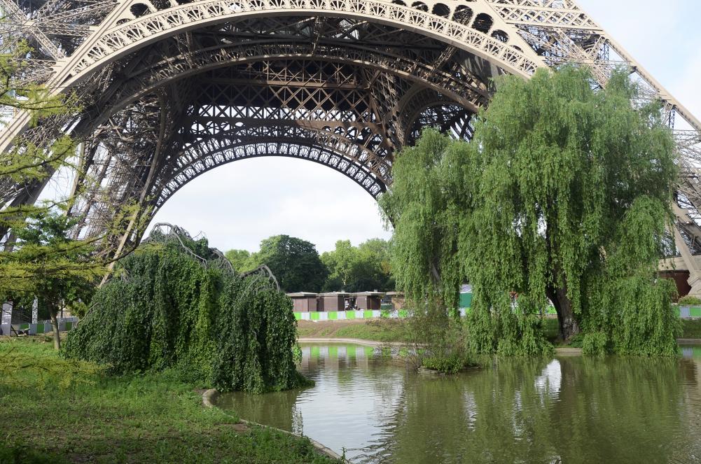 jardín de la Torre Eiffel
