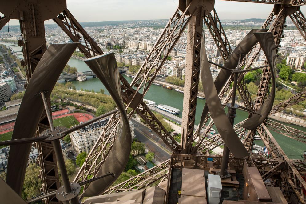 éoliennes sur la Tour Eiffel
