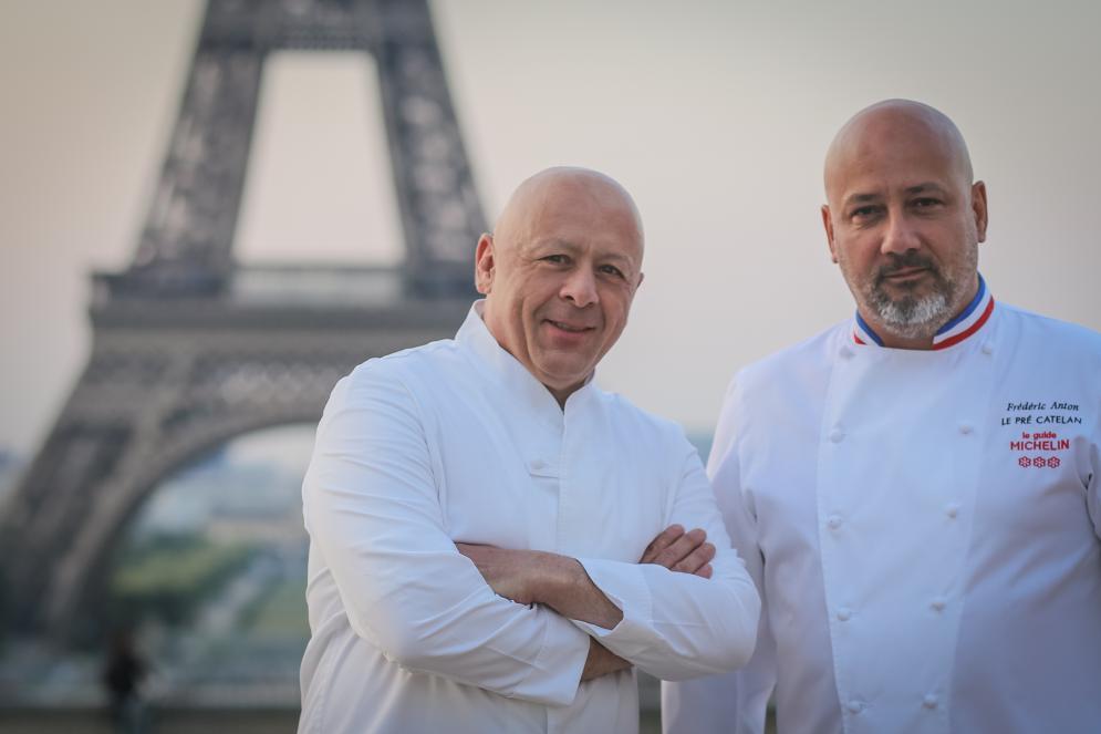 Frédéric Anton & Thierry Marx