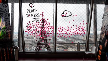 The place to kiss, animation Saint-Valentin